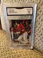 2020 Topps Austin Riley Future Stars Rookie Graded 10 Atlanta Braves