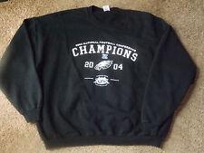 Long Sleeve Black 2004 National Champions Football Conference Sweat Shirt 2X