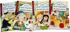 4 Ladybird Books Early Learning Hardback Let's Read Together New Clearance Stock