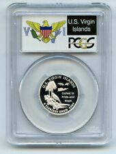 2009 S 25C Silver Virgin Islands Quarter PCGS PR70DCAM