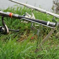 Automatic Double Spring Angle Pole Fish Pole Bracket Fishing Rod Holder