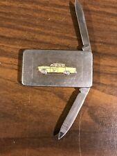 Yellow Cab Company Pocket Knife/Money Clip