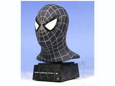 "MARVEL COMICS Master Replicas Nero Spiderman 3 6"" Mini Busto Statua Figura RARA"