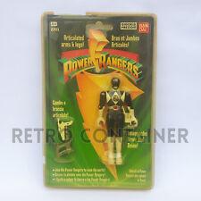 BANDAI MIGHTY MORPHIN' POWER RANGERS - 1993 Original Black Ranger MISB MOC NEW