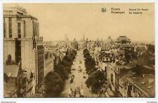 CPA-Carte postale-Belgique-Anvers-Place de Meir et le Torengebouw -1933 (CP2121)
