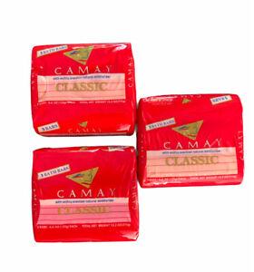9 Bars Classic CAMAY Bar SOAP 9 x 4.4 oz Pink Bath Bars Softly Scented