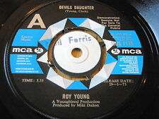 "ROY YOUNG - DEVILS DAUGHTER   7"" VINYL DEMO"