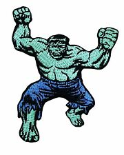 The Incredible Hulk Comics Avenger Movie Superhero Man Embroidered Iron On Patch