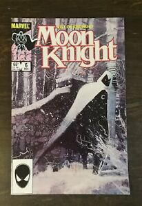Moon Knight Fist of Khonshu #6 (Marvel, December 1985) Comic Book Nice Condition