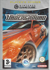 NEED FOR SPEED UNDERGROUND for Nintendo Gamecube - with box & manual - PAL