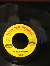 """The Little Bald Bunny - Peter Pan Records 45-672 7"""" 45RPM"""