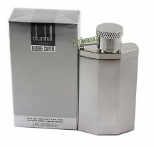 Dunhill Desire Silver London  3.3/3.4oz Edt Spray For Men New In Box