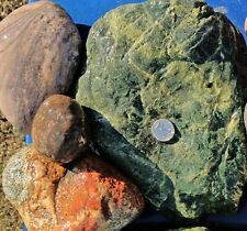 30 lbs Lot #3 Extra Extra Large XXL Colorful River Rocks Decorative Landscape