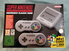snes mini super nintendo classic mini console uk version next day new sealed