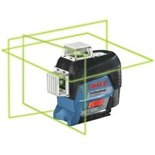 Bosh Gll3 330cg 360 Green Beam 3 Plane Leveling Laser With Rechargeable Battery