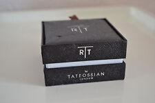 Tateossian London  Rhodium-Plated Mood Mechanical CuffLinks Brand new