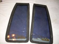 1984-1988 Toyota Xtra Cab B pillar glass left and right PAIR HILUX SR5 EXTENDED