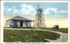 Moores Summit Observatory Tower Mohawl Trail MA c1920 Postcard