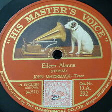 78rpm JOHN McCORMACK eileen alanna / where the river shannon flows