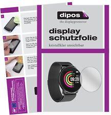 2x Umidigi Uwatch Schutzfolie klar Displayschutzfolie Folie Display Schutz dipos