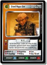 Star Trek CCG RoA Rules of Acquisition Grand Nagus Gint