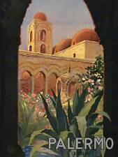 TRAVEL ITALIA SICILIA PALERMO SICILIA 30x40 cm fine art print poster bb9755
