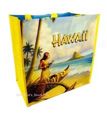 HAWAII EXCLUSIVE COSTCO L Vintage Hula Girl Reusable Eco Shopping Bag Tote