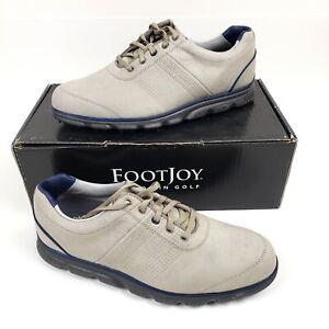 FOOTJOY Dryjoy Casual Spikeless  Khaki Men's Golf Shoes 9.5M 53514 *BRAND NEW*