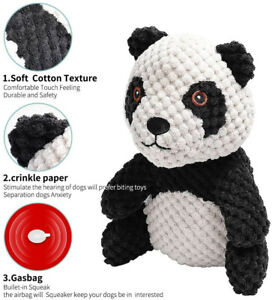 Beewarm Plush Toy For Small Dog up to 5-10lbs Indestructible Chew Toy