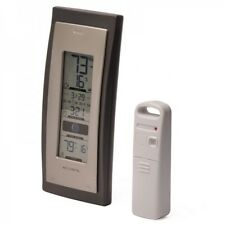 AcuRite 00592A3 Wireless Weather Thermometer with Moon Phase / Clock