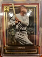 2020 Topps Museum Babe Ruth Red #/50