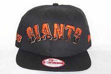 New Era 9Fifty 950 San Francisco Giants The Filler Snapback Baseball Cap Black