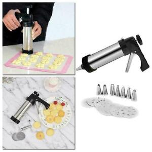 Biscuit Maker Cookie Making Cake Decoration Press Molds Cookie Kit New