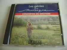 Les Génies De La Musique - Concertos En Émotion (CD - Édition Atlas)