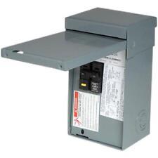 Square D HOME250SPA Homeline 50 Amp 2-Pole Metallic Spa GFCI Panel Main Lug