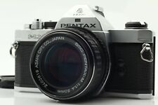 【APP N MINT】 Pentax MX Film Camera Silver & Pentax-M 50mm f/1.4 From JAPAN  #866