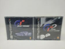 Ps1 Gran Turismo 1 And 2 Games(Sony Playstation One) Complete W/ Case & Manuals