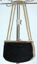 sac à mains soirée MAIANI en satin plissé vintage