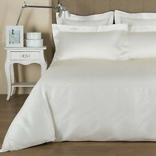 NEW FRETTE Single Ajour Duvet Comforter Cover QUEEN IVORY ITALY