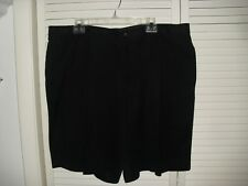 TOMMY BAHAMA BLACK MEN'S DRESS SHORTS 100% SILK EUC