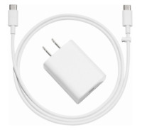 NEW Genuine Google Pixel 1, 2, 3 - A/C Adapter Charger + USB C to C Cable Bundle