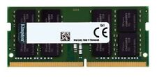 Kingston 16GB DDR4 2666MHz PC4-21300 1.2V CL19 260pin SODIMM Laptop Memory RAM