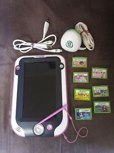 Leap frog Leappad Ultra, 7 Game Cartridges & 14 Ebooks & Games Loaded on Device
