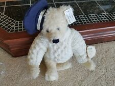"""Barton Creek Lenore DeMent Bear Fully Jointed Fitzgerald loves the Sea 14"""""""