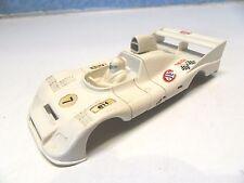 DD 16 ) CARROSSERIE DE PORSCHE 936 blanche N° 7  JOUEF circuit routier jouef