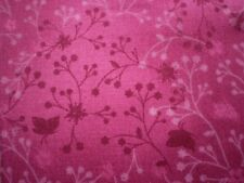 FLUTTER, by John Louden.  Burgundy - 100% Cotton