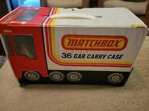 1978 Lesney Matchbox 36 Car Carry Case