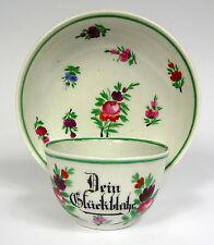 Posto a tavola TAZZA Rudolstadt Ilmenau? 1840 per