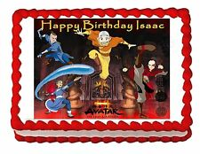 AVATAR AIRBENDER party decoration cake topper edible cake image  frosting sheet