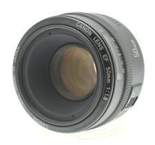 Canon EF 50mm F1.8 Autofocus Lens MK 1 Metal Mount for EOS Film or Digital SLR